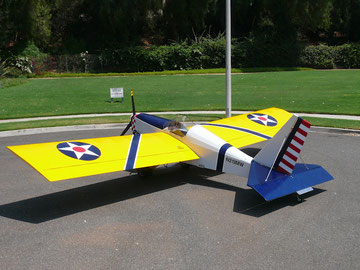 Randy Lewis' Max-103 with US Army Air Corps colors