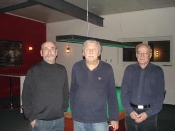 v.l. Hansruedi Vogt / Kurt Bader / Sergio Vecellio