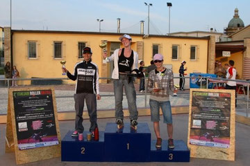 Womens Freestyle Battle Podium - Credit: Alessando Cola