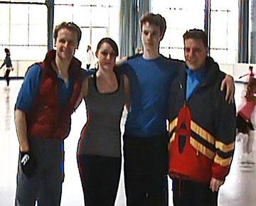 Mark, Kathi, Sevan, Vitali