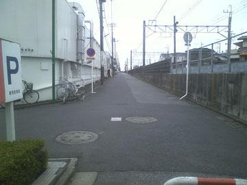 成田線沿線道路