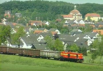 Hüttenbahn der Georgsmarienhütte in einem Imagefilm des Stahlwerks GMHütte vom 26.10.2009