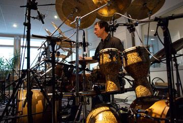 Aufnahme im Greve Studio Berlin