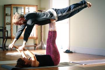 Yoga in unserem Yoga Retreat