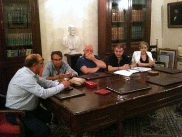 Sala riunioni dello Studio Timpanaro - 3 settembre 2012