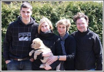 Familie Kovac mit Beethoven