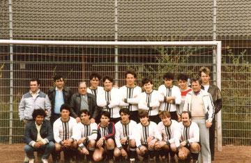 3. Mannschaft 1986 - Spanier