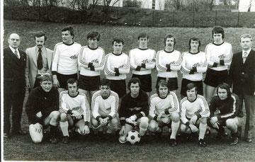 1. Mannschaft Meister 1973