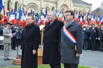 Commémoration départementale de la fin de la guerre d'Algérie à Saint-Lô
