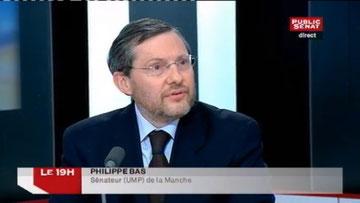 Débat Philippe Bas-Philippe Kaltenbach, Public Sénat, 13.06.13 (début du reportage à 9')