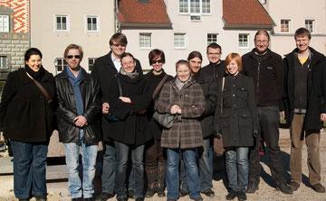Andrea, Klaus, Christoph, Sandra, Monika, Vanessa, Sebastian, Stefan, Caroline, Gerald, Peter (von links nach rechts)