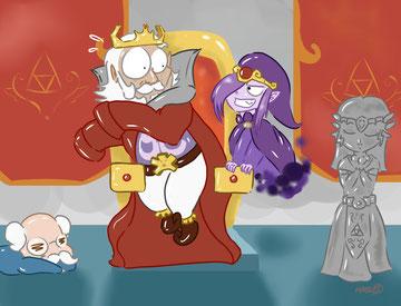 Superbe dessin d'Odessa de l'épisode 8.