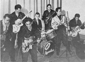 The Black Dynamites at the KRO studio (1960)