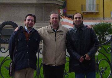 A Corato (BA) con Giovanni Adduci e Domenico Mazzilli