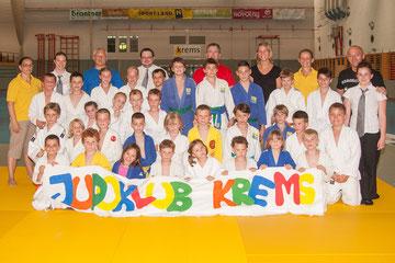 Judoklub Krems- Vereinsmeister 2013. Foto: zVg