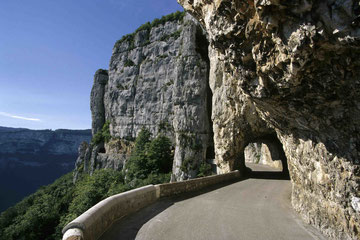 route touristique dans le massif du vercors