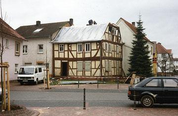 Stopp des Abrisses durch die untere Denkmalschutzbehörde
