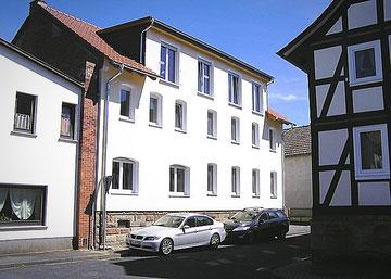 Haus Querstraße 5 nach der Renovierung zum Allerweltshaus - der alte Charme für immer verschwunden!