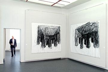 Museumsberg Flensburg 2002, Einzelausstellung Henning Bertram