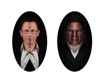 Split Personality. Gold Award Winning image in the Creative Portraiture Section of the 2015 Iris Awards