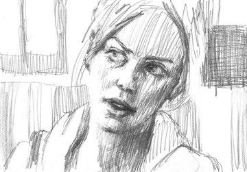 「ヤング≒アダルト」A4(鉛筆/紙)