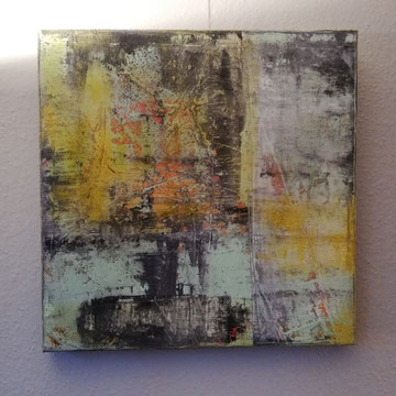 Abstraktes, acryl gespachtelt 60/60