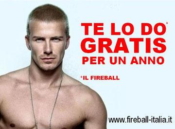 Il nuovo poster promozionale della Fireball Italia