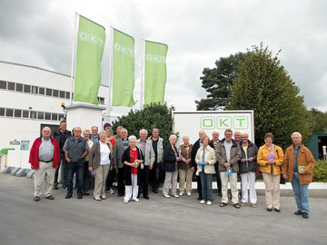 links.:  Günter Bohne,(Vorsitzender AG 60 plus Stemwede)   rechts: Dieter Pohl (Vorsitzender der AG 60 plus im Mühlenkreis) (FOTO: SPD)