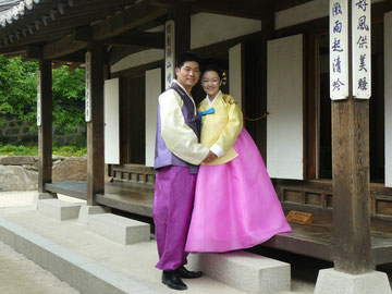 ソウルの花嫁、花婿