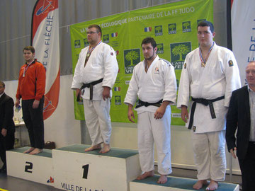 Loïc Broussot +100 kg médaille de bronze