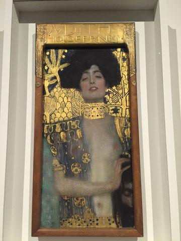Judith und Holofernes von Gustav Klimt im Oberen Belvedere