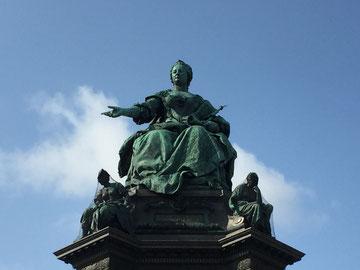 Maria Theresia Statue auf der Wiener Ringstrasse