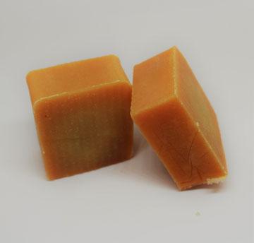 Orangenseife der Bremer Seifenmanufaktur