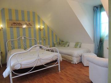 """Chambre d'hôtes tout confort """"3 épis"""" dans le Marquenterre en Baie de Somme prés du Crotoy"""