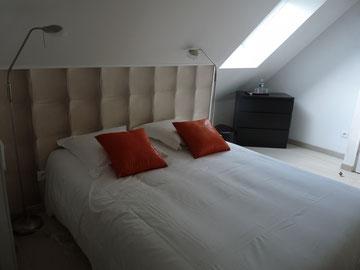 """""""Le Pigeonnier"""" chambre moderne, confortable, un petit nid pour les amoureux..."""