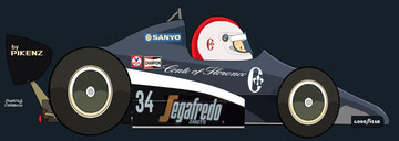 Johnny Cecotto by Muneta & Cerracín
