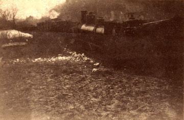 Kerkerbachbahn, Lok 4, Unfall, Schupbach