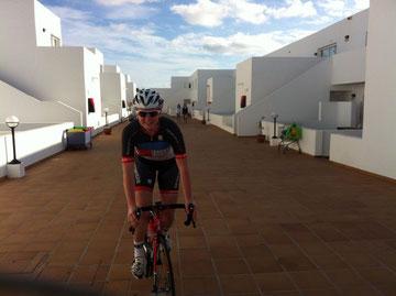 Yesssss, endlich wieder auf dem Rad, der legendäre Augenblick! :-)
