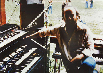 K.G.  im Sommer 1980 mit den Shotguns in Stuttgart