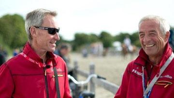 Hans Melzer mit seinem Co Trainer Christopher Bartle