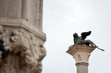 Leone di San Marco nella Piazzetta