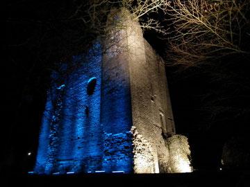 Donjon du château de Domfront, Normandie, Orne