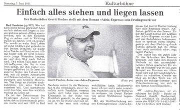 Wetterauer Zeitung, 07.06.2011