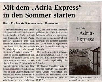 MAZ, Mittelhessische Anzeigen Zeitung vom 04.05.2011