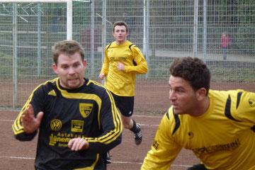 1:3 Niederlage für die Erste gegen Sfr. Niederwenigern 2. - Weitere Fotos zum Spiel unter: Senioren /1. Mannschaft / Bilder (Foto: mal).