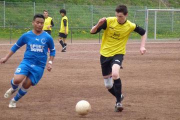 B1 im Spiel gegen RuWa Dellwig II. an der Pelmanstraße (Foto: mal).