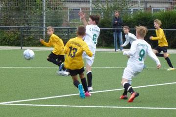 D1-Jugend gegen den FC Stoppenberg. - Foto: mal.