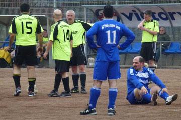 Alte Herren 1 im Spiel gegen SC Türkiyemspor, Endstand 7:0 (Foto: mal).