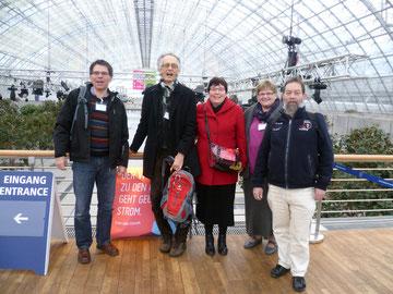Thomas Ludwig, Hans-Christoph Werner, Birgit Bopp, Margret und Thomas Pietsch.