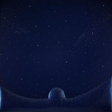 Polvere di stelle, Tecnica mista , cm 100x100, 2012